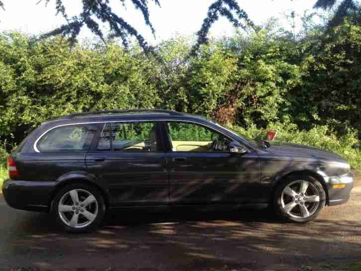 59 Jaguar X Type Estate grey, diesel, automatic, 12 months mot