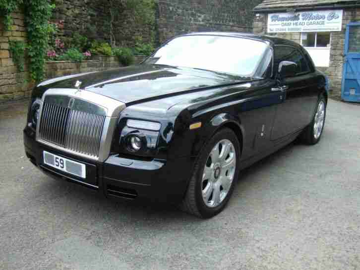 59 REG ROLLS ROYCE PHANTOM COUPE 2DR DAMAGED REPAIRABLE SALVAGE