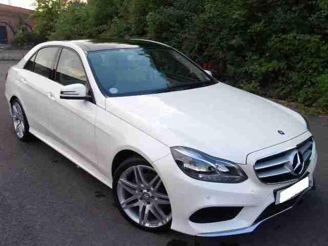Mercedes benz 63 reg e220 amg sport 2 1 cdi 7g auto polar for Mercedes benz polar white paint