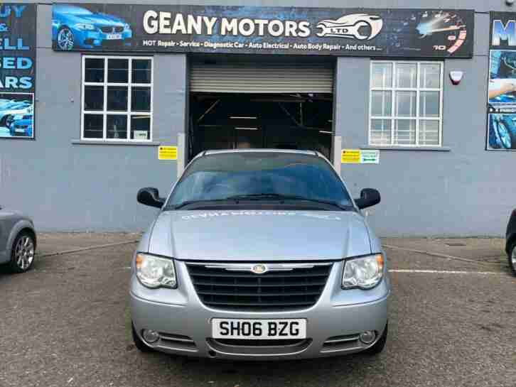 7 SEATS CHRYSLER GRAND VOYAGER, 2.5 CRD MANUAL, FULL MOT_SERVICED