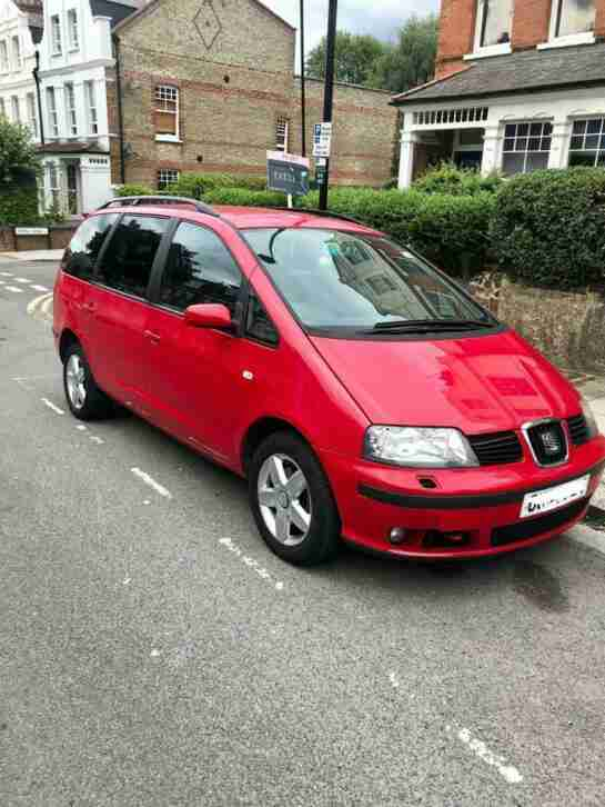 7 Seater Automatic MPV, Seat Alhambra, only 81,500 miles with 11 months MOT