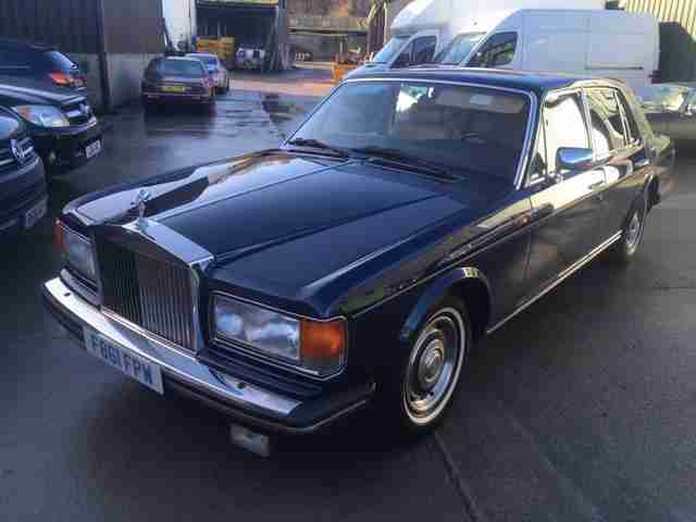 89 Rolls Royce Silver Spirit LHD left hand drive more new than Bentley Mulsanne!