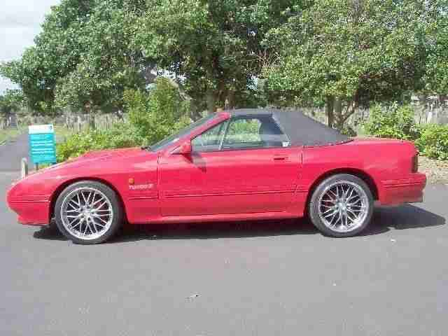 92 MAXDA RX7 CONVERTIBLE STUNNING IN RED