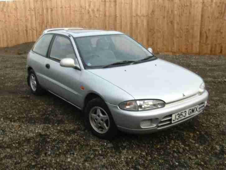 mitsubishi 92 colt 1 6 glxi petrol manual 3 door hatchback silver long rh bay2car com