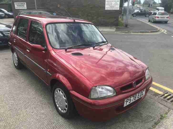 96 P ROVER 114 1.4 SLi ( METRO ) IN NIGHTFIRE RED MET 37,000 MILES FROM NEW