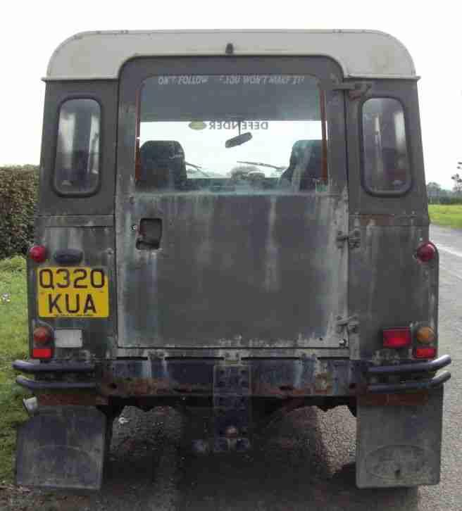 Jeep 1990 DALLAS [Grandin] Peugeot Engine Great Fun Needs Some