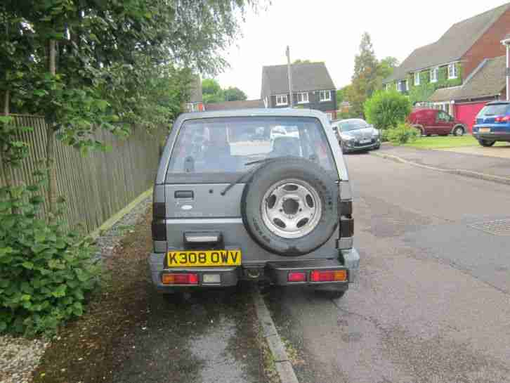 99p Start Daihatsu Sportrack 1.6 ELX I Must Go!!! MOT March 2015 No TAX