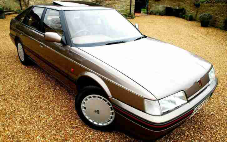 ABSOLUTELY BREATHTAKING ROVER 8OO Mk 1 827 Si FASTBACK JUST 9,OOO mls FROM NEW