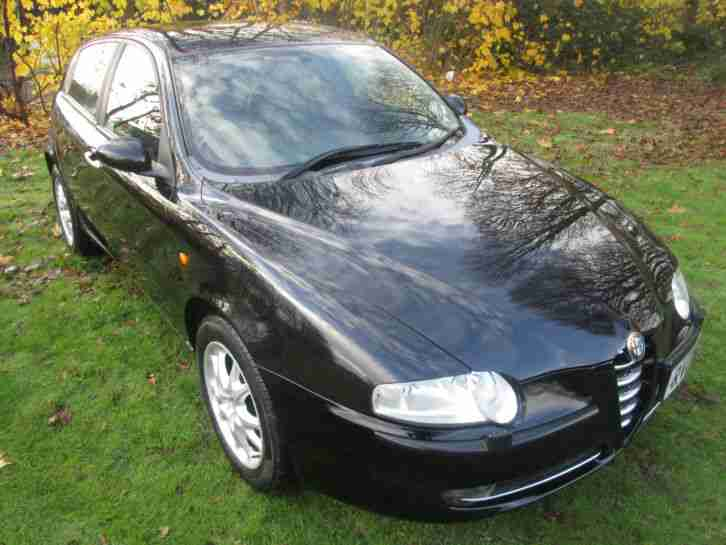 ALFA ROMEO 147 AUTO LOVELY & RARE - ALFA SERVICE HISTORY * TOP OF RANGE MODEL*