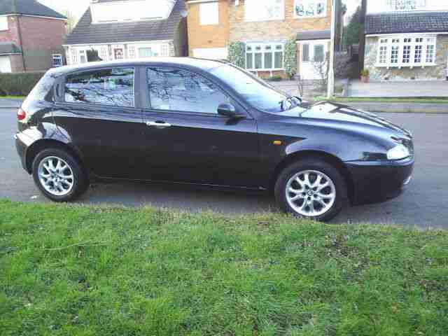 ALFA ROMEO 147 JTD LUSSO 8V SPARES OR REPAIRS USED DAILY
