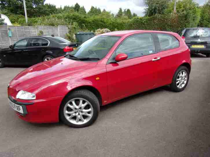 Alfa Romeo T SPARK LUSSO RED Manual only 86000 miles on