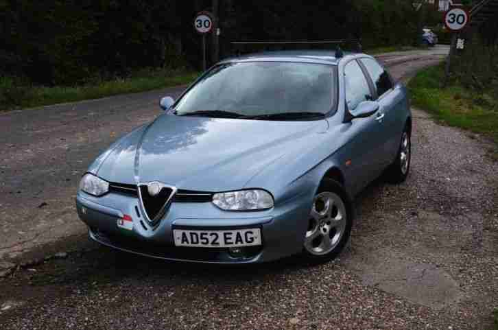 ALFA ROMEO 156 1.8TS LOW MILES 84K, FSH, CAMBELT CHANGED AUG 16, mot SEP 17, VGC