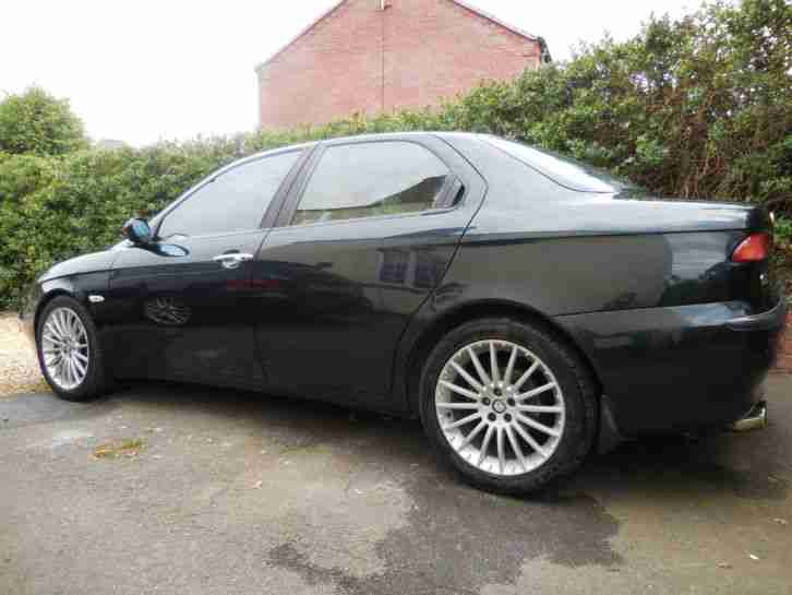 ALFA ROMEO 156 2.5 V6 BLUE, Recent cambelt, tensioner and w/pump, Well serviced