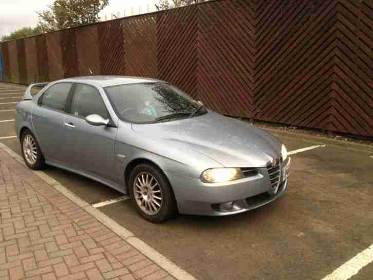 alfa romeo 156 veloce 16v m jet jtd blue car for sale. Black Bedroom Furniture Sets. Home Design Ideas