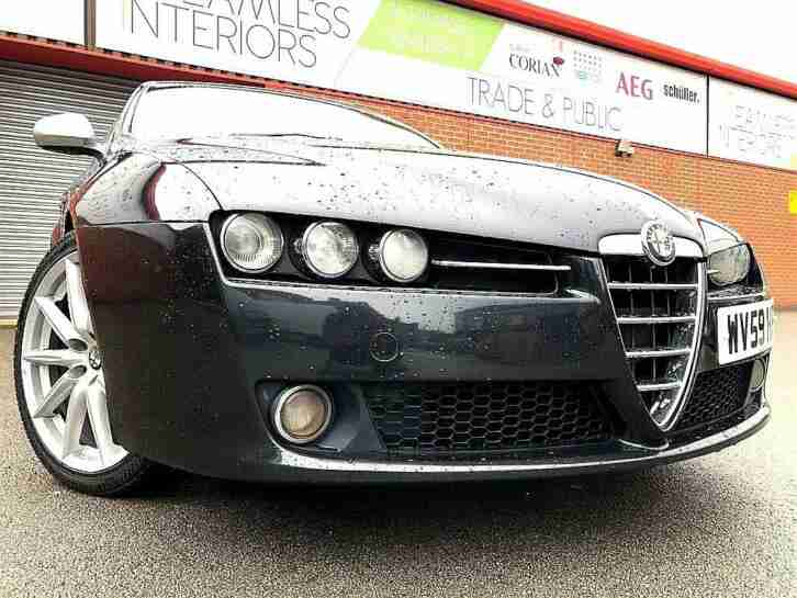 ALFA ROMEO 159 1.9JTDM 16v TI 2009 59 CHEAPEST IN UK FULLY LOADED YES 98,K
