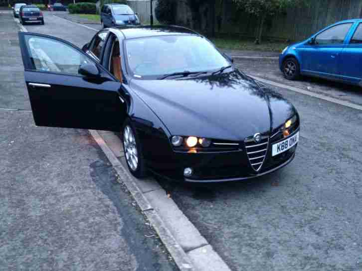 alfa romeo 159 3 2 v6 q4 lusso very rare 4x4 260bhp low reserve. Black Bedroom Furniture Sets. Home Design Ideas