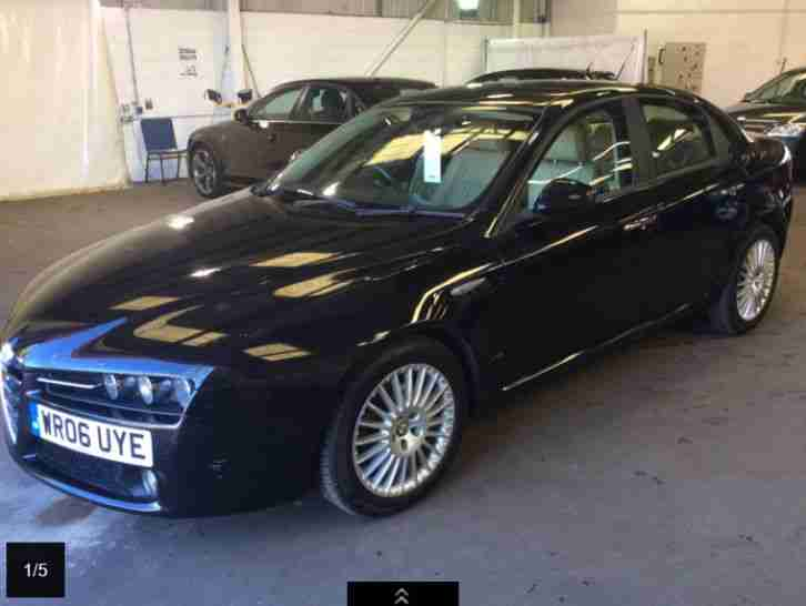 ALFA ROMEO 159 LUSSO 1.9 JTDM Diesel 60k Miles Black Cream Leather Ti GT 2.0 2.4