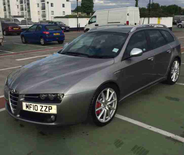 alfa romeo 159 ti estate jtdm 2 0 diesel grey 2010 price now reduced. Black Bedroom Furniture Sets. Home Design Ideas