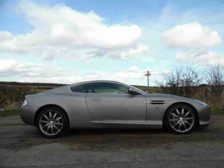 ASTON MARTIN DB9 6.0 V12 AUTO, WRAPPED IN BRUSHED TITANIUM .. SWAP OR PX WELCOME