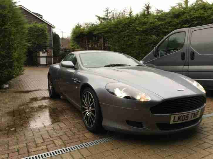 Aston Martin DB9 rare manual May swap part ex range rover why