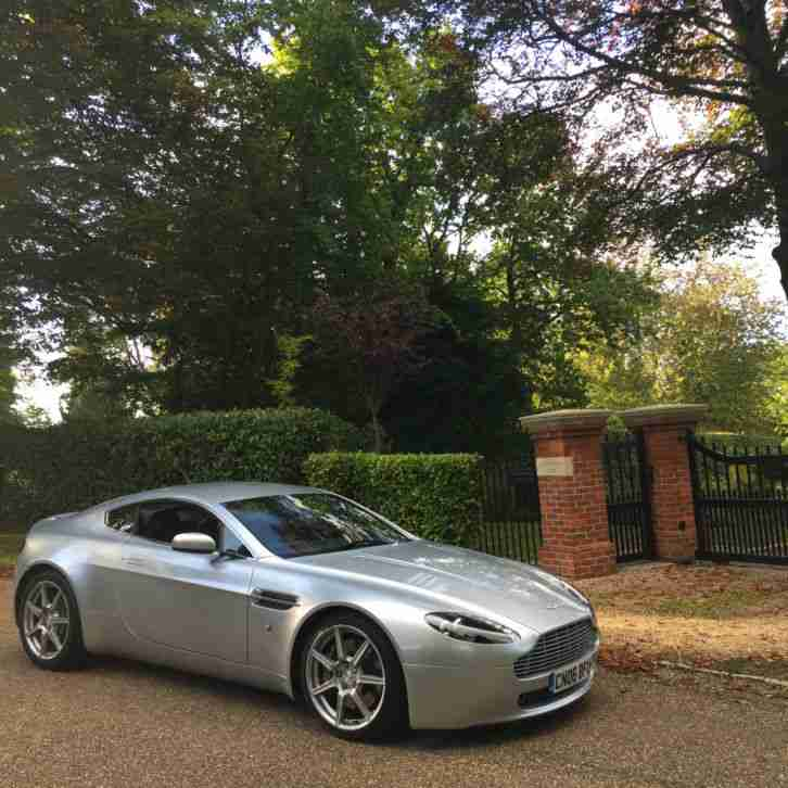 Aston Martin Vantage V8 Titanium Silver 2 Owners Just
