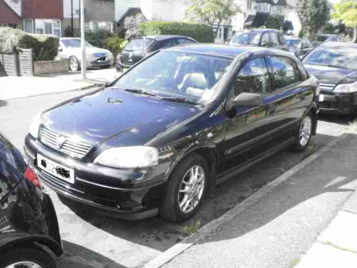 ASTRA. Opel car from United Kingdom