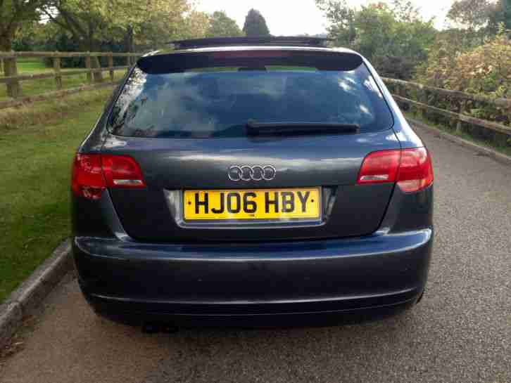 audi a3 2 0 tdi s line dsg auto 5dr sportback diesel panoramic 2006. Black Bedroom Furniture Sets. Home Design Ideas