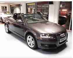 AUDI A3 CABRIOLET 1.9TDI SPORT convertible Parking sensors 78k Metallic Grey