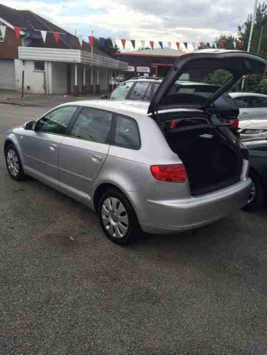 AUDI A3 SPECIAL EDITION 8V Automatic 2006 Petrol Automatic in Silver