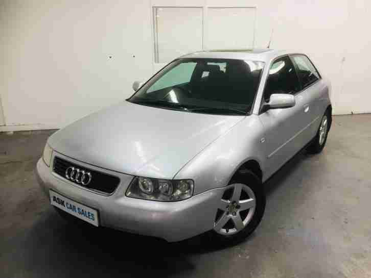 AUDI A3 SPORT 3dr, JULY 2019 MOT, ELECTRIC GLASS SUNROOF!!!