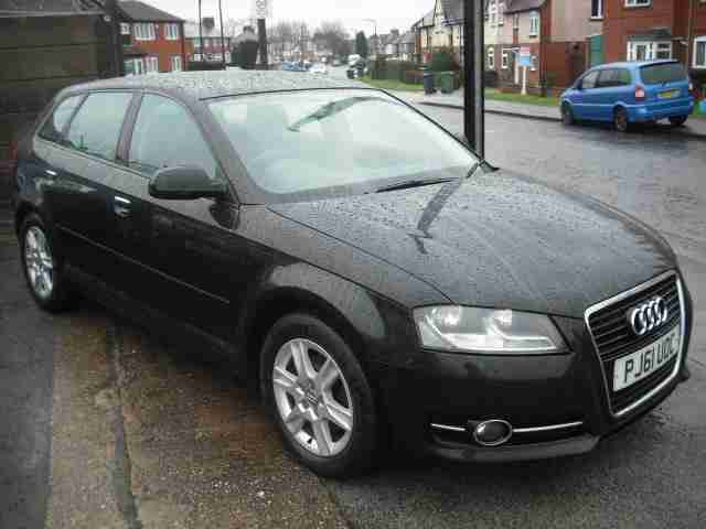 Audi A3 SPORTBACK. Audi car from United Kingdom