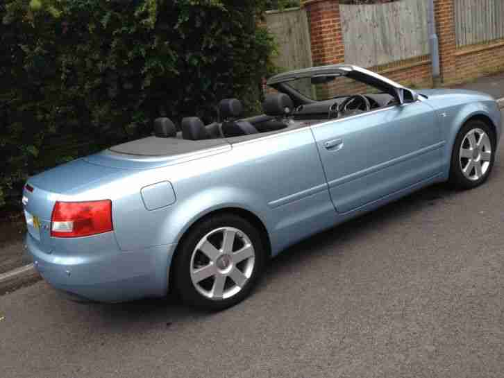audi a4 2 5 tdi auto 2005 convertible low mileage mot. Black Bedroom Furniture Sets. Home Design Ideas
