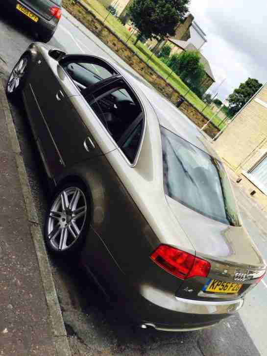 AUDI A4 2006 56 REG 2.0 TDI S LINE SPECIAL EDITION 170 BHP CAT D REPAIRED S LINE