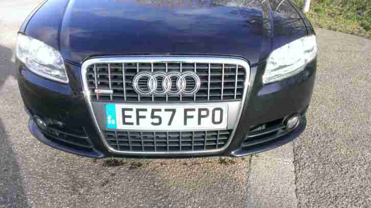 AUDI A4 S LINE TDI 2007 EXCELLENT CONDITION 12 MOUTHS M.O.T