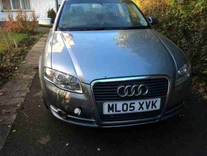 AUDI A4 SE TDI GREY 2005 spares or repair