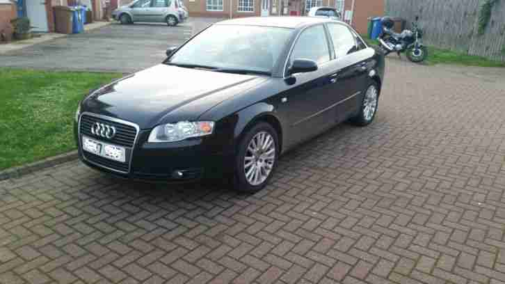 AUDI A4 TDI 170 SE 2007 07 87K FSH 1 PREVIOUSE KEEPER 6 SPEED SATNAV