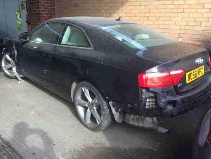 Salvage Cars For Sale >> Audi A5 2.7 TDI CAT C SALVAGE EASY REPAIR. car for sale
