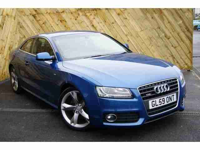 Audi A5 Coupe Special Editions 20t Fsi 180 S Line Special Ed 2dr