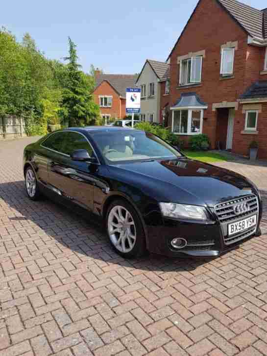 Audi A5 Coupe. Audi car from United Kingdom