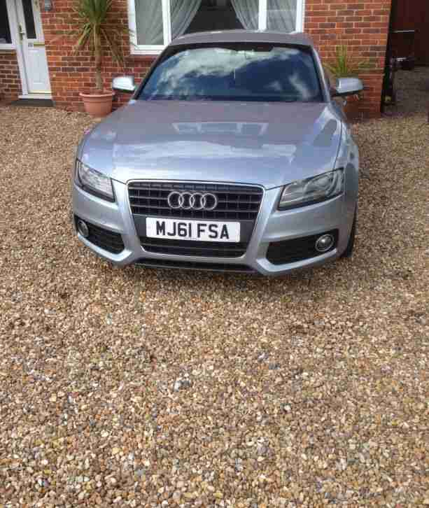 Audi A5 S LINE TDI SILVER. Car For Sale