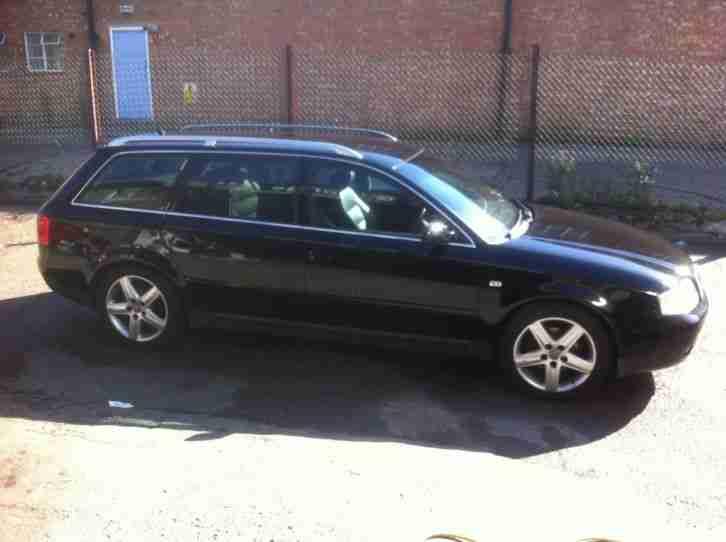 Audi A6 C5 1 8t Remaped Estate Manual F S H Rare 7 Seater Black Car For Sale