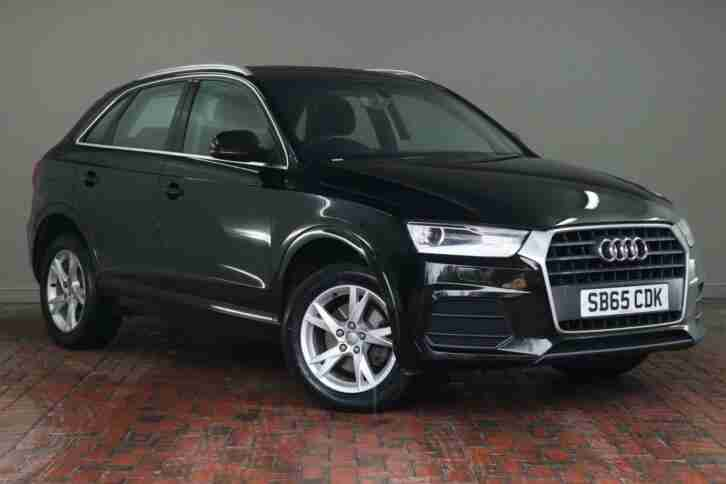 Audi Q3 2.0. Audi car from United Kingdom