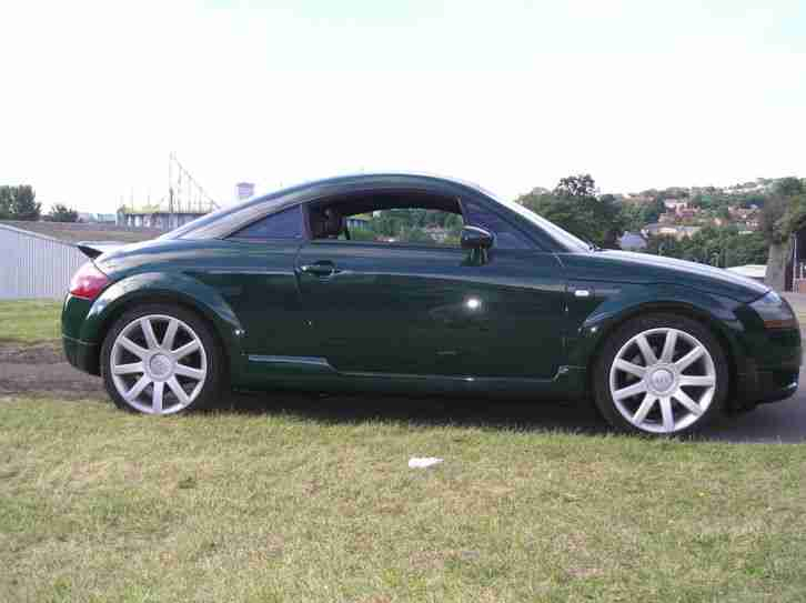 audi tt coupe quattro 225 bhp green 2003 car for sale. Black Bedroom Furniture Sets. Home Design Ideas