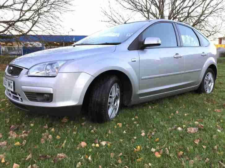 AUTO 2007 FORD FOCUS 1.6 GHIA 99BHP FULL DEALER HISTORY + EXCELLENT CONDITION