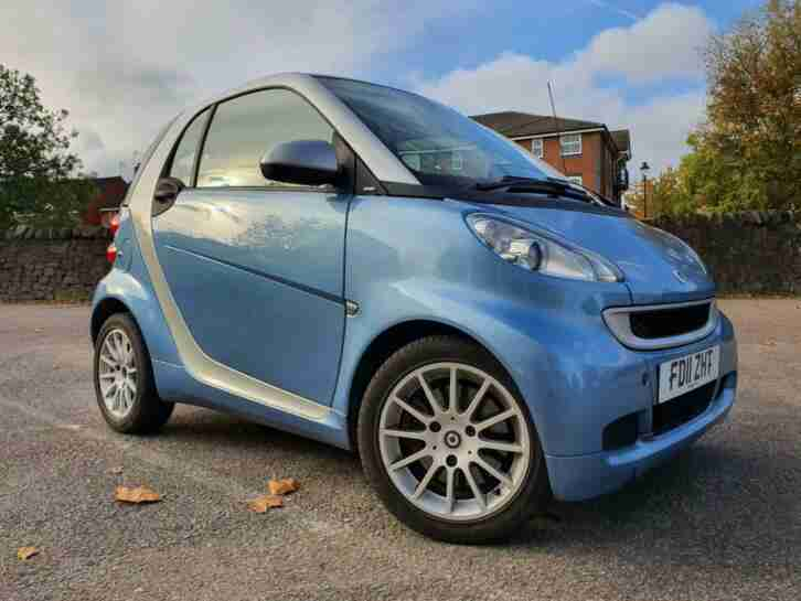 AUTO 2011 11 SMART FORTWO 1.0 MHD SOFTTOUCH | PANROOF+SATNAV+£0 ROAD TAX