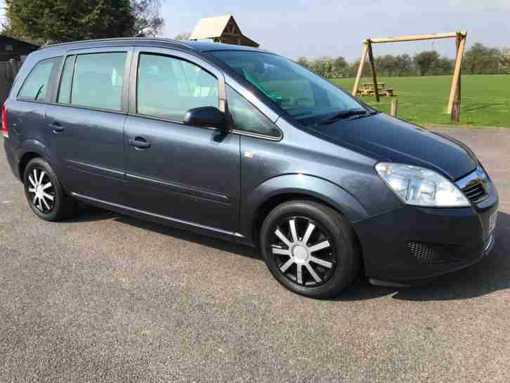 AUTOMATIC VAUXHALL ZAFIRA EXCLUSIVE 1.9 CDTI