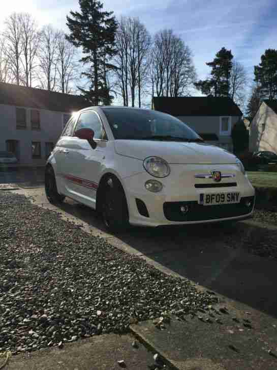 Abarth 500 low miles and excellent