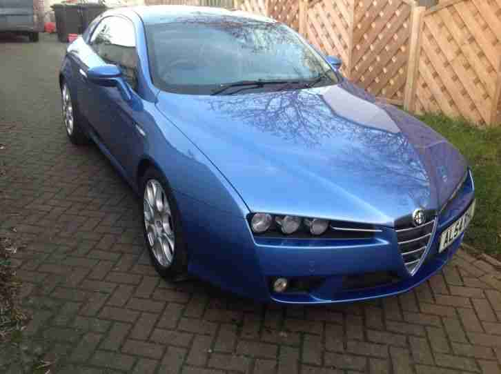 Alfa Brera 2.2 blue with navy/tobacco leather 2006