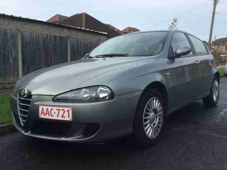 alfa romeo 147 1 6 twin spark nov 2006 left hand drive. Black Bedroom Furniture Sets. Home Design Ideas
