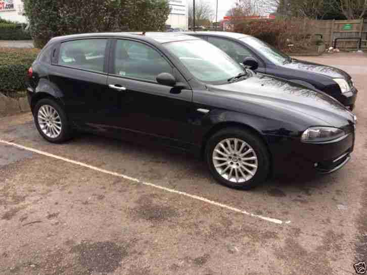 alfa romeo 147 1 9 jtdm black 2007 car for sale. Black Bedroom Furniture Sets. Home Design Ideas